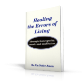 Healing the Errors of Living